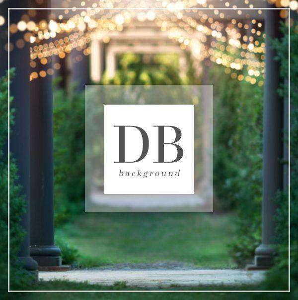 Wedding Garden Digital Background for Photography | Bellevue Avenue