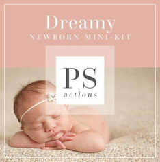 Dreamy Newborn Photoshop Actions Mini Kit