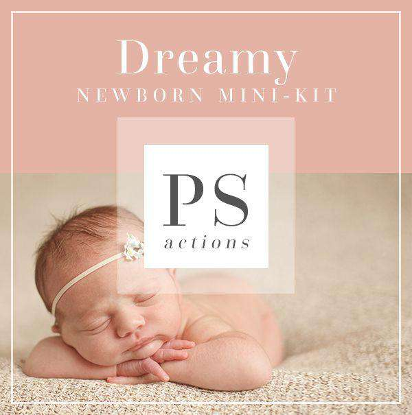 Newborn Photoshop Actions for Photographers | Bellevue Avenue