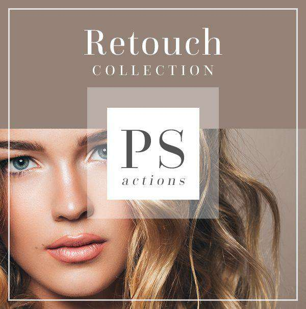 Skin Editing Retouching Photoshop Actions | Bellevue Avenue