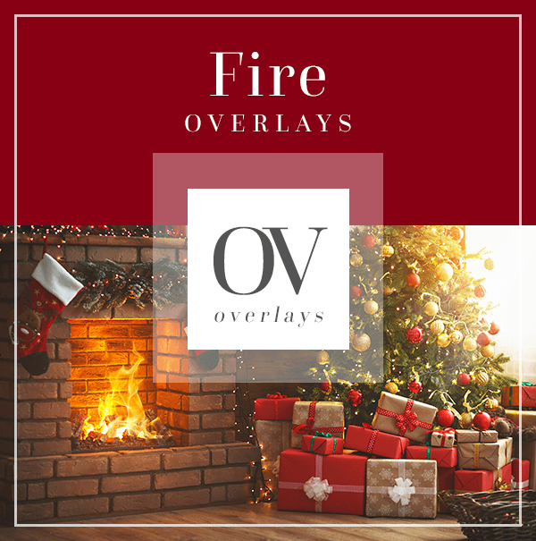 Fire Overlays for Editing | Bellevue Avenue