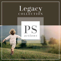 The Legacy Photoshop Actions