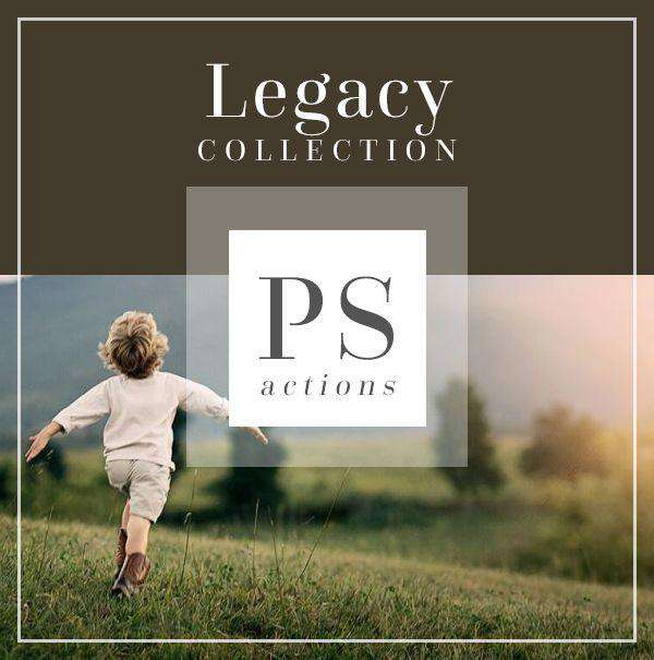 Legacy Collection Photoshop Actions for Photographers (Greens Browns) | Bellevue Avenue