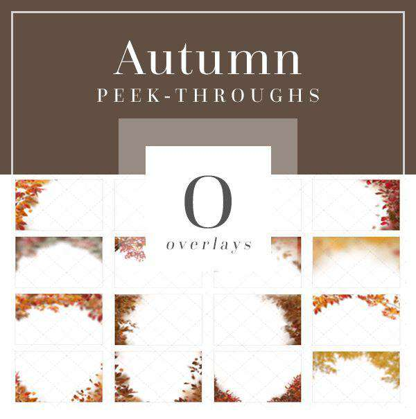 Peek-Through Autumn Overlays
