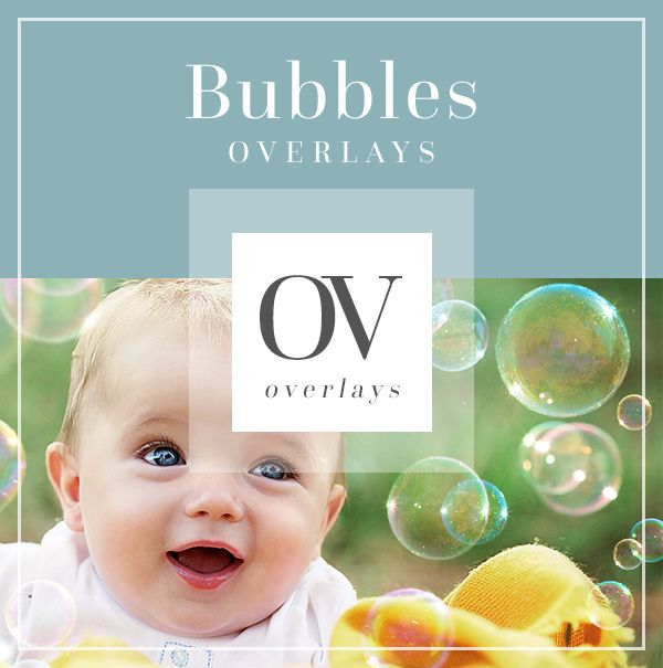 Bubble Overlays for Photographers | Bellevue Avenue