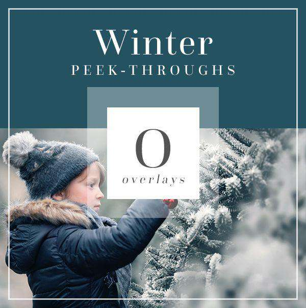 Peek Through Winter Overlays