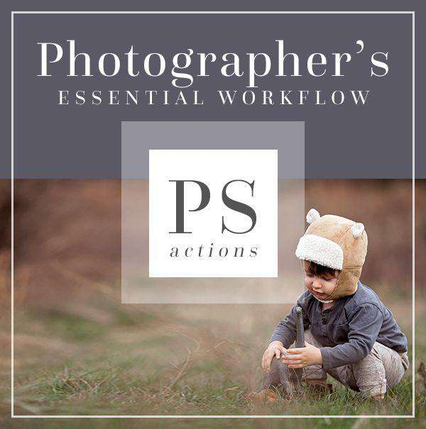 Photographer's Essential Workflow Photoshop Actions
