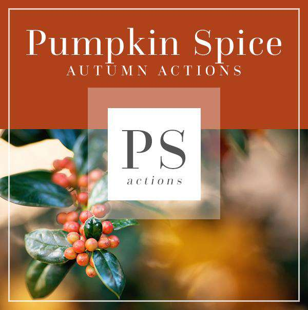 Pumpkin Spice Autumn Actions