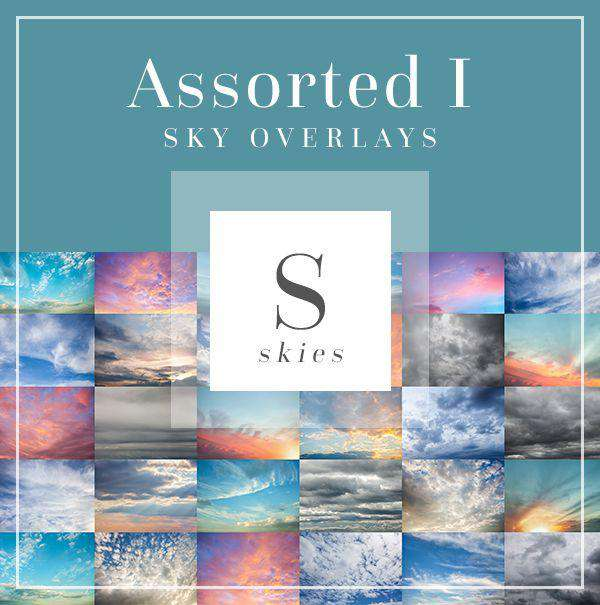 Sky & Cloud Overlays: Assorted Pack I