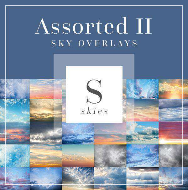 Sky & Cloud Overlays: Assorted Pack II