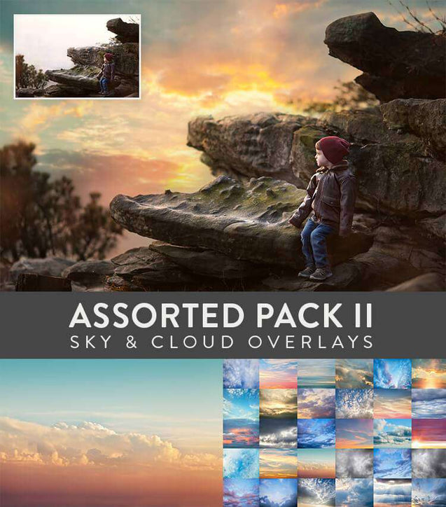 Sky And Cloud Overlays - Sky & Cloud Overlays: Assorted Pack II
