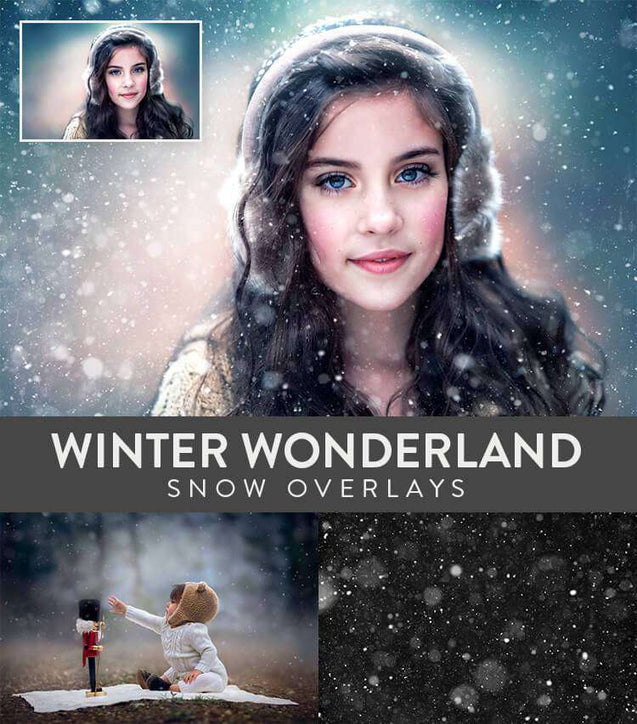 Textures And Overlays - Winter Wonderland Snow Overlays