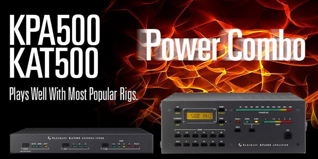 KPA500 & KAT500 Power Combo  - $75 Combo Savings