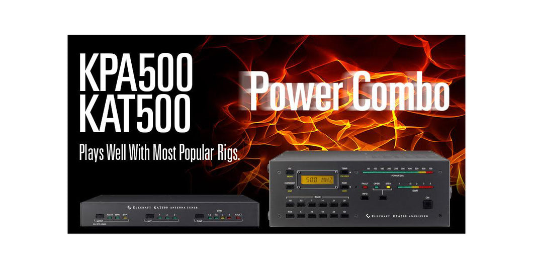 PWRCOMBO-K_KPA500 & KAT500 Power Combo, Kit (NOTE: Select 1 PWR Cable Below) - $75 Savings