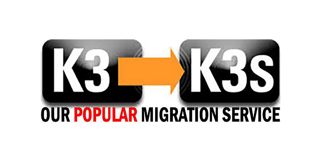 MIGRSVC_K3/K3S Migration Service, includes K3s/100-F with $75 Discount