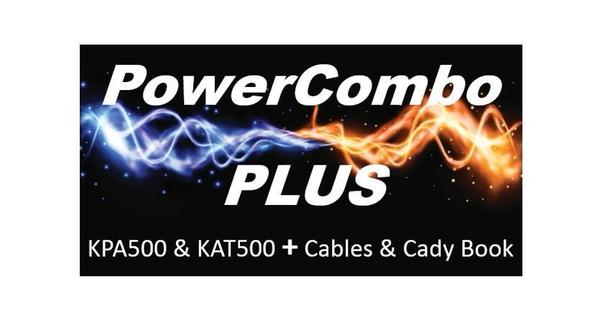 PWRCMBO+CadyBook-K_KPA500 & KAT500 Power Combo Plus NOTE: Select 1 PWR Cable Below