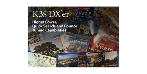 PKG 2 K3S DXer_K3s/100-F DX'er Pkg -Save over $250