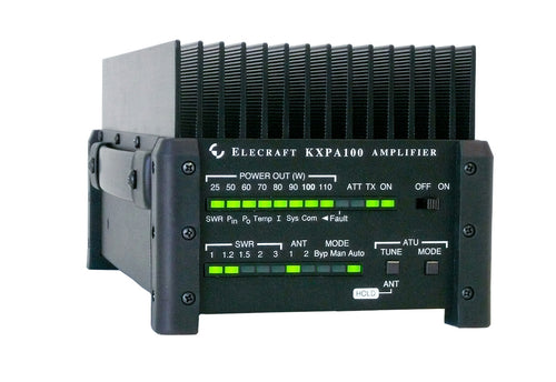 KXPA100-F_100 W External Amplifier-Assembled  (incl. DC power cable)