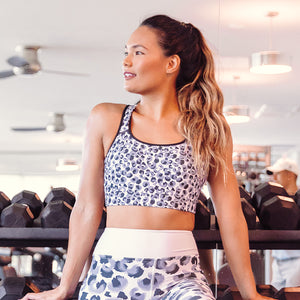 NEW Chui Leopard Sports bra