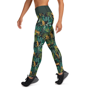 Kyana Jungle in High Waist - Call Me Activewear