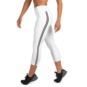 Monse Stripe High Waist Capris - Call Me Activewear