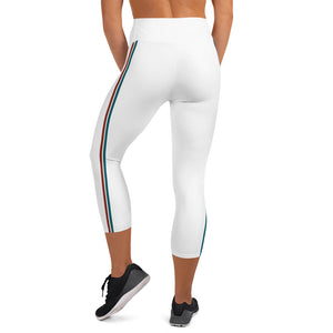 NEW Monse Stripe High Waist Capris - Call Me Activewear