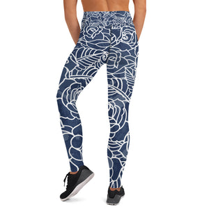 Night Bloom High Waist - Call Me Activewear