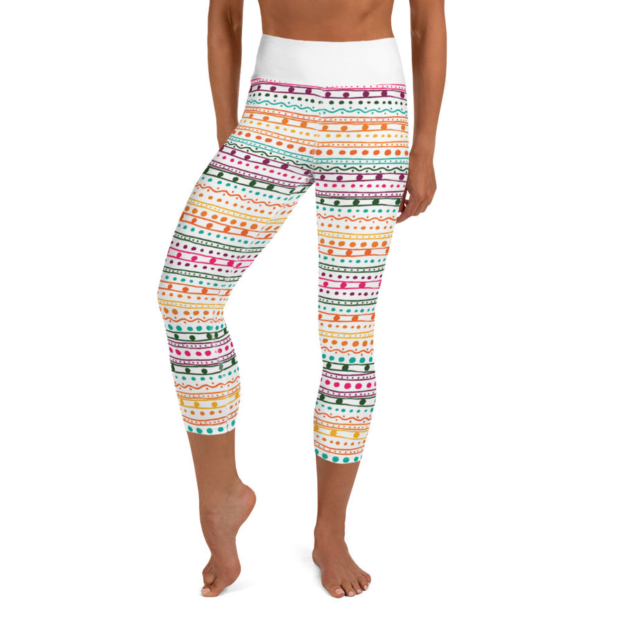 NEW Ollie Pop Capri Leggings - Call Me Activewear