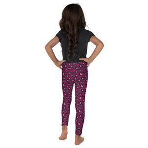 Berry Cheetah Minnie Me Leggings