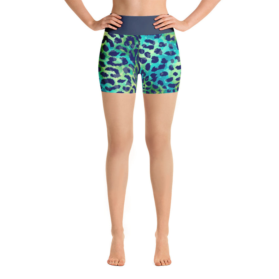 George High Waist Bali Shorts - Call Me Activewear