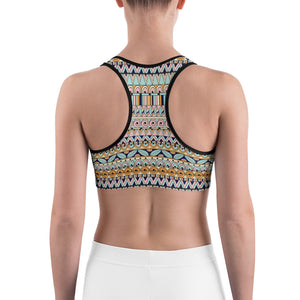 Panama Stripe Sports bra - Call Me Activewear