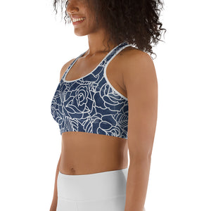 Night Bloom Sports bra - Call Me Activewear