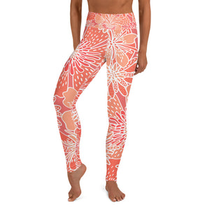 Mandarin High Waist Leggings - Call Me Activewear