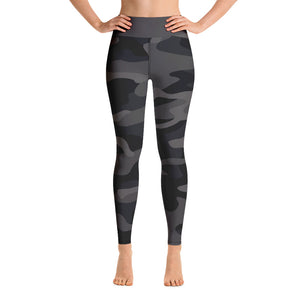 Black Camo in High Waist - Call Me Activewear