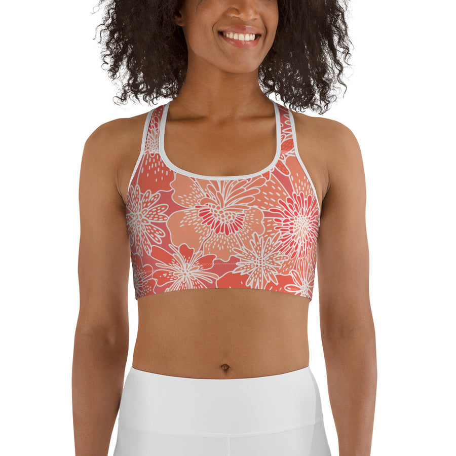 Mandarin Sports bra - Call Me Activewear