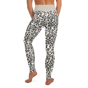 Snow Leopard High Waist - Call Me Activewear