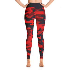Camo Fire High Waist BACK IN STOCK - Call Me Activewear