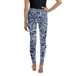 Night Bloom Youth Leggings - Call Me Activewear