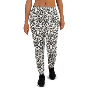 NEW Hello Joggers in Snow Leopard - Call Me Activewear