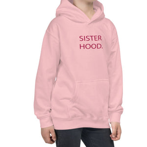 Minnie Me Sister Hood Hoodie in Pink - Call Me Activewear