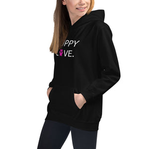 Minnie Me Puppy Love Hoodie in Black - Call Me Activewear