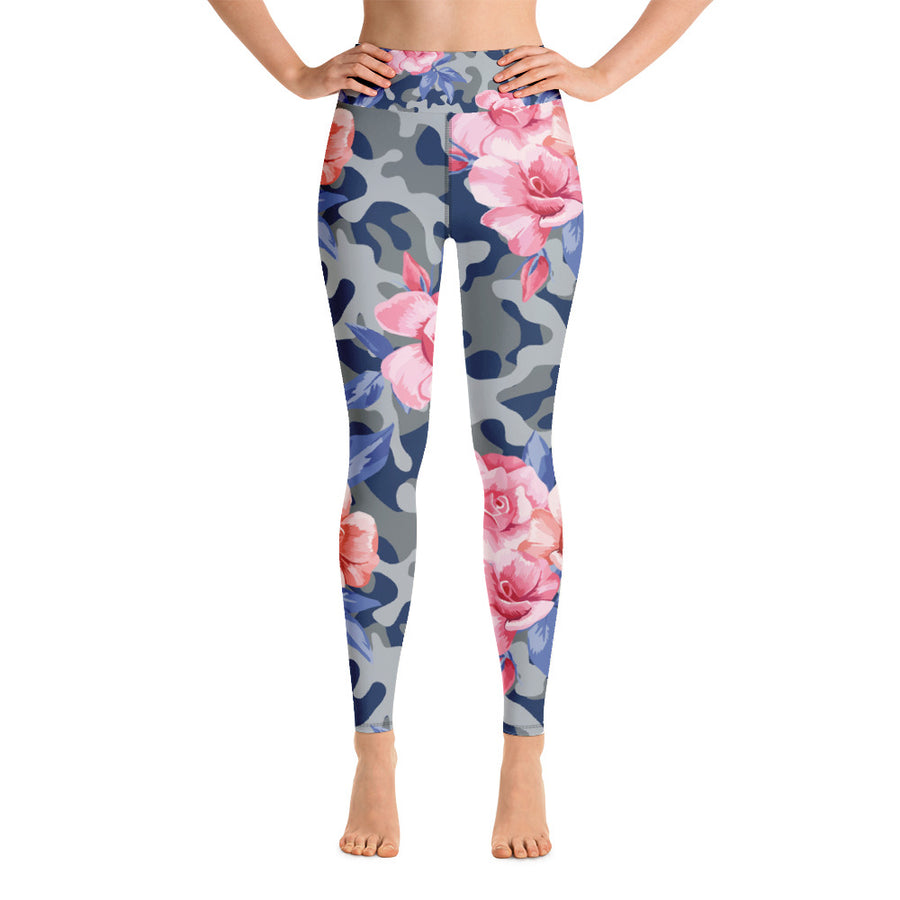 Esprit Camo in Higher Waisted - Call Me Activewear