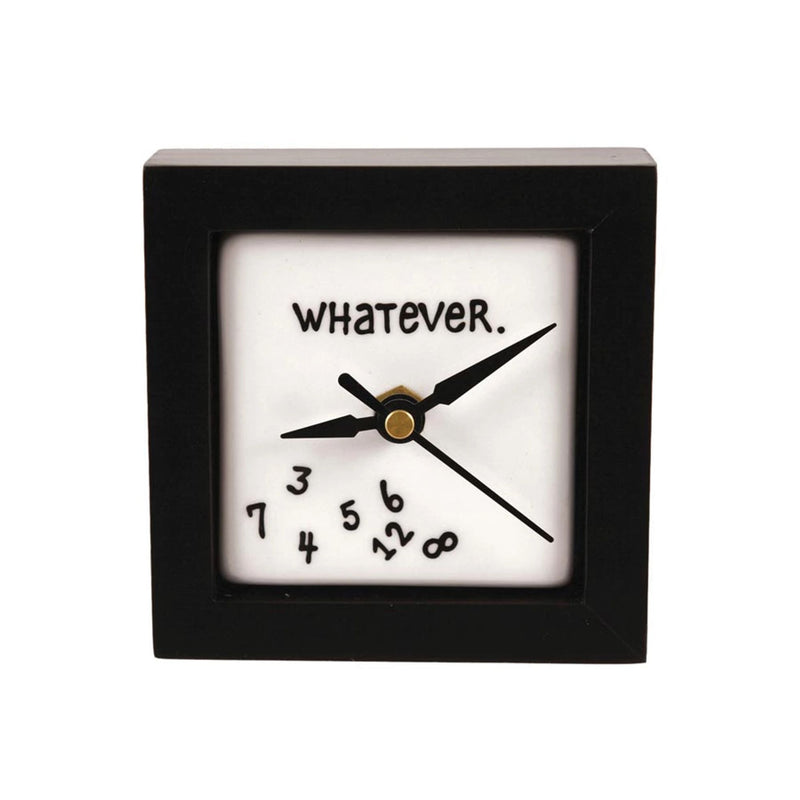 Whatever Desk Clock