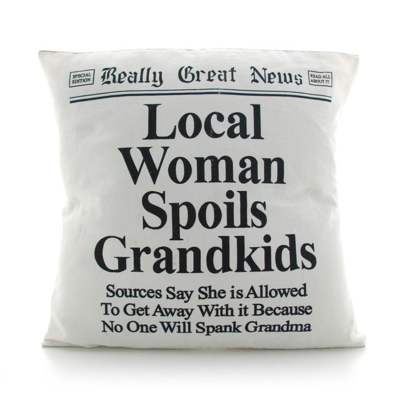 Spoil Grandkids Pillow