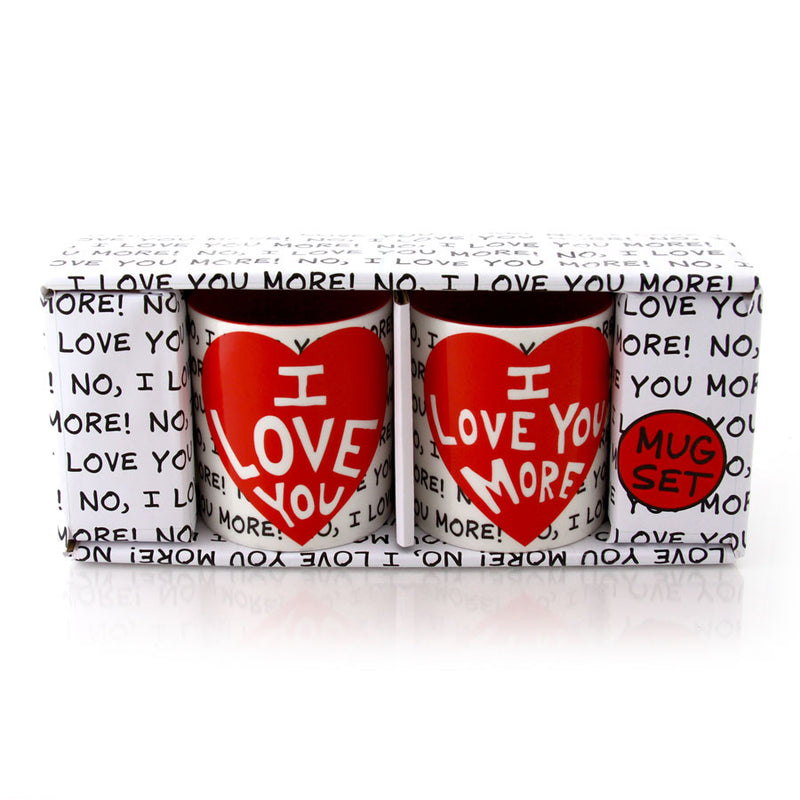 I Love You Mug Set
