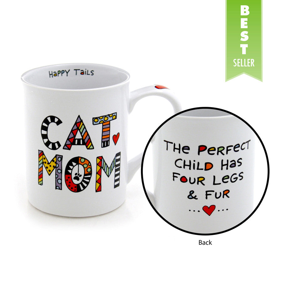 Doodle Mom – Cat Mug Mud Cuppa Our Name Is QtrdCsh