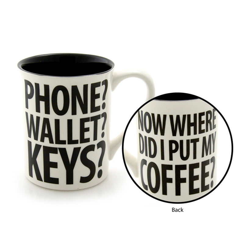 Phone Wallet Forgot Mug