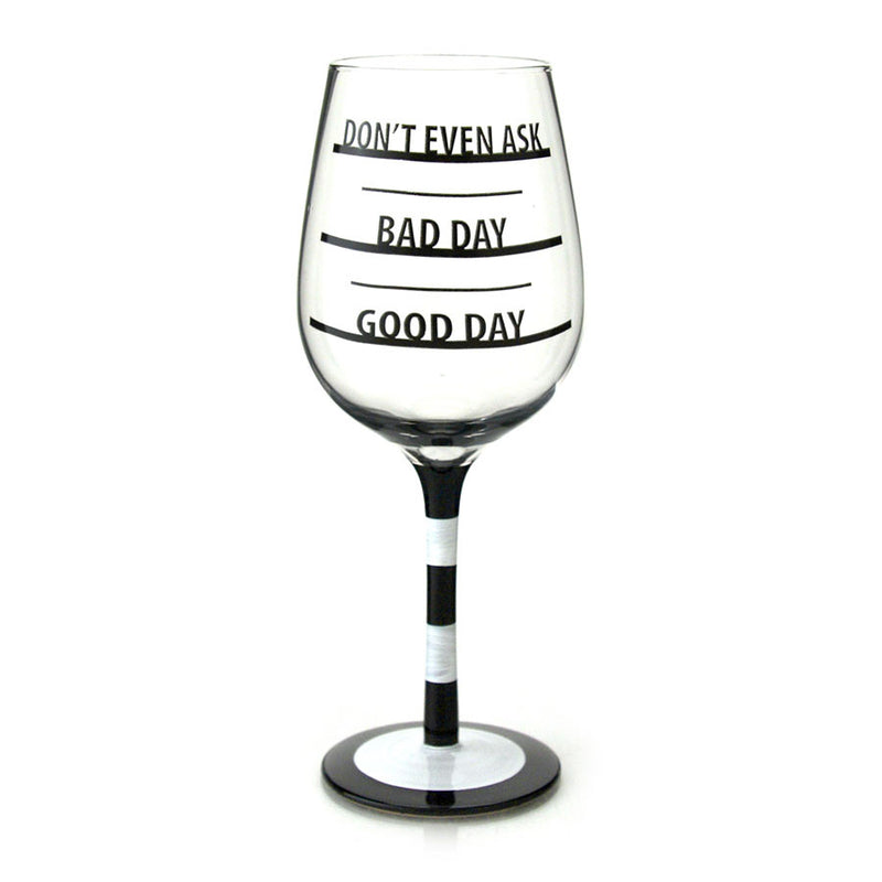 How Was Day Wine Glass