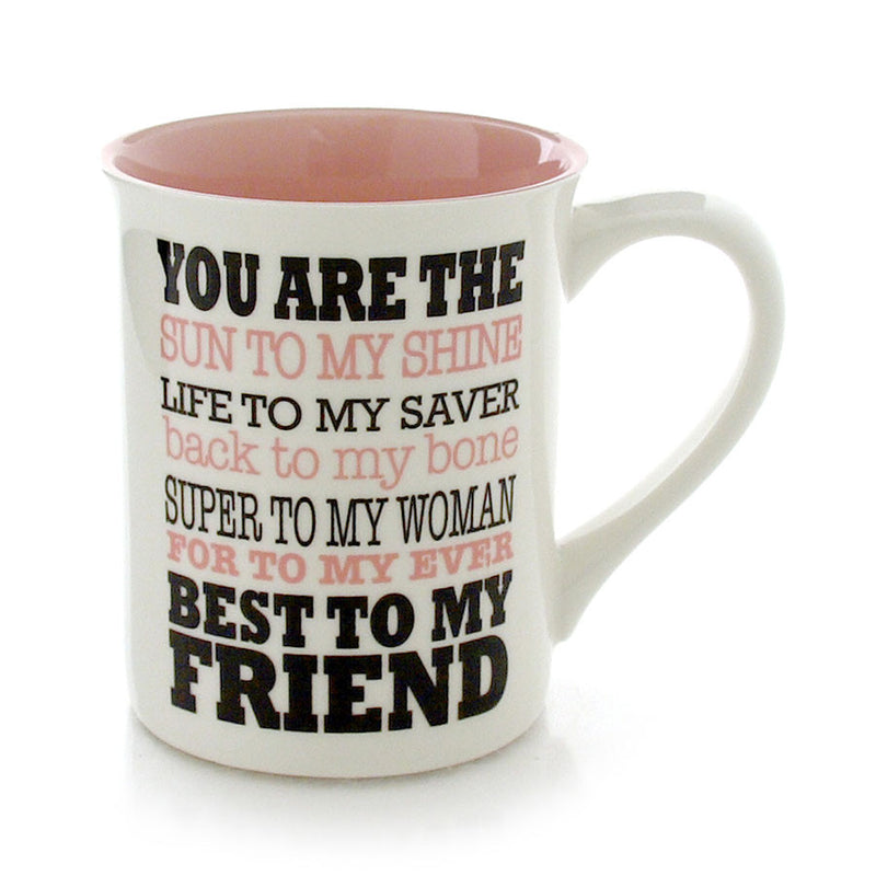 BFF Best to My Friend Mug