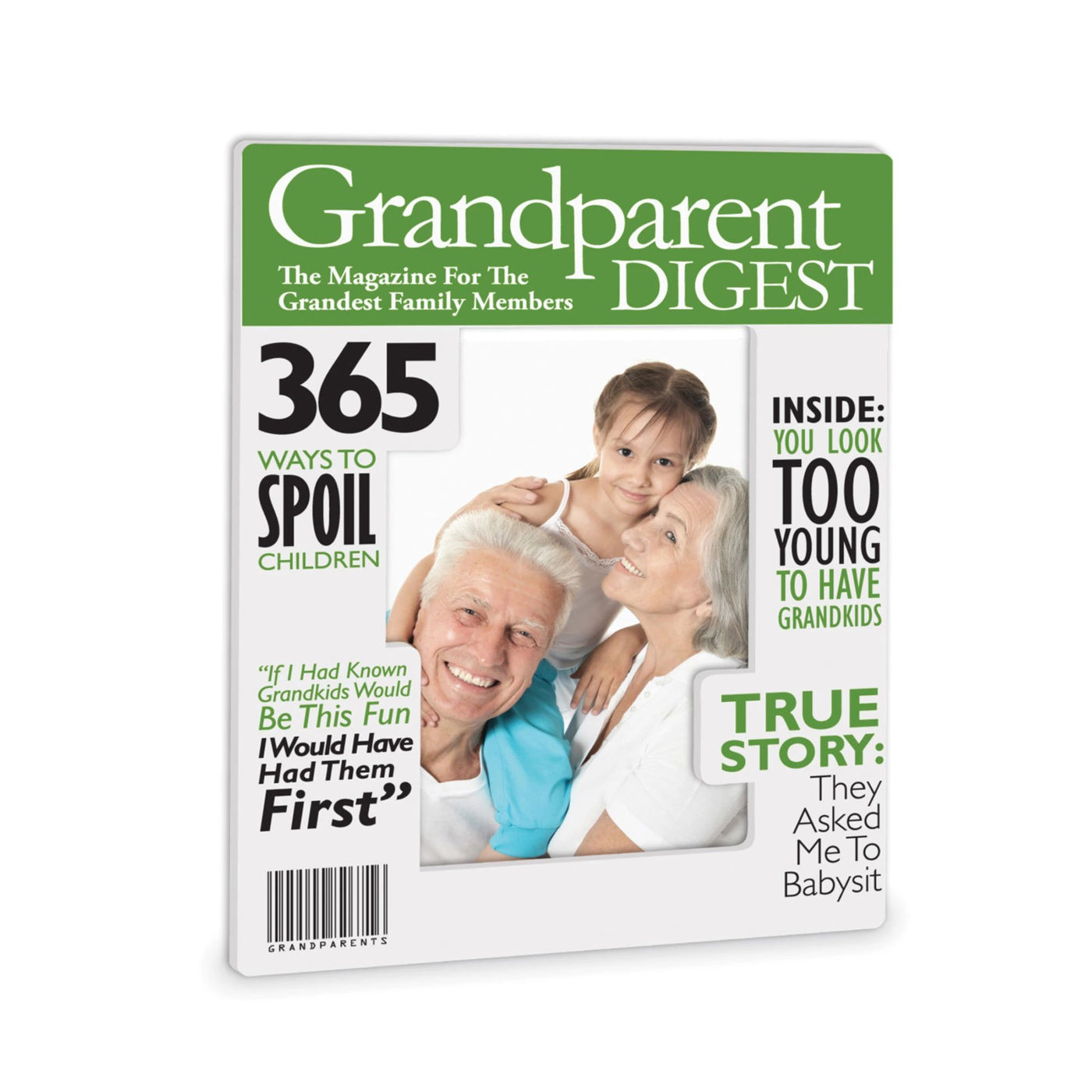 Grandparents Magazine Frame – Our Name Is Mud